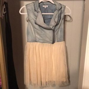 StyleMint Rocker Ballerina Mini Dress Small